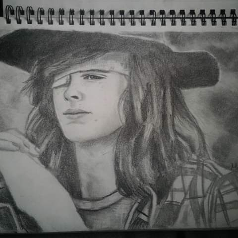 Chandler Riggs by Macha